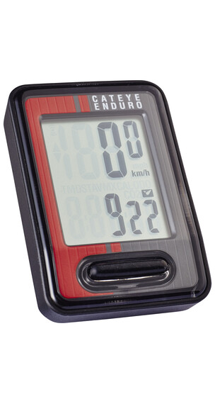 CatEye Enduro CC-ED400 Licznik rowerowy czerwony/czarny